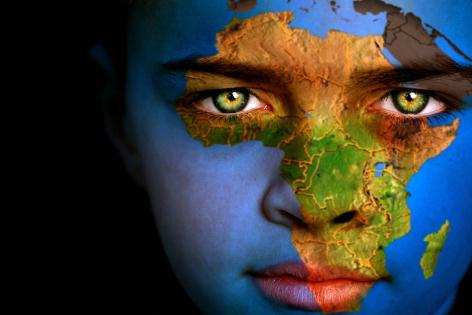 Earth boy - Africa
