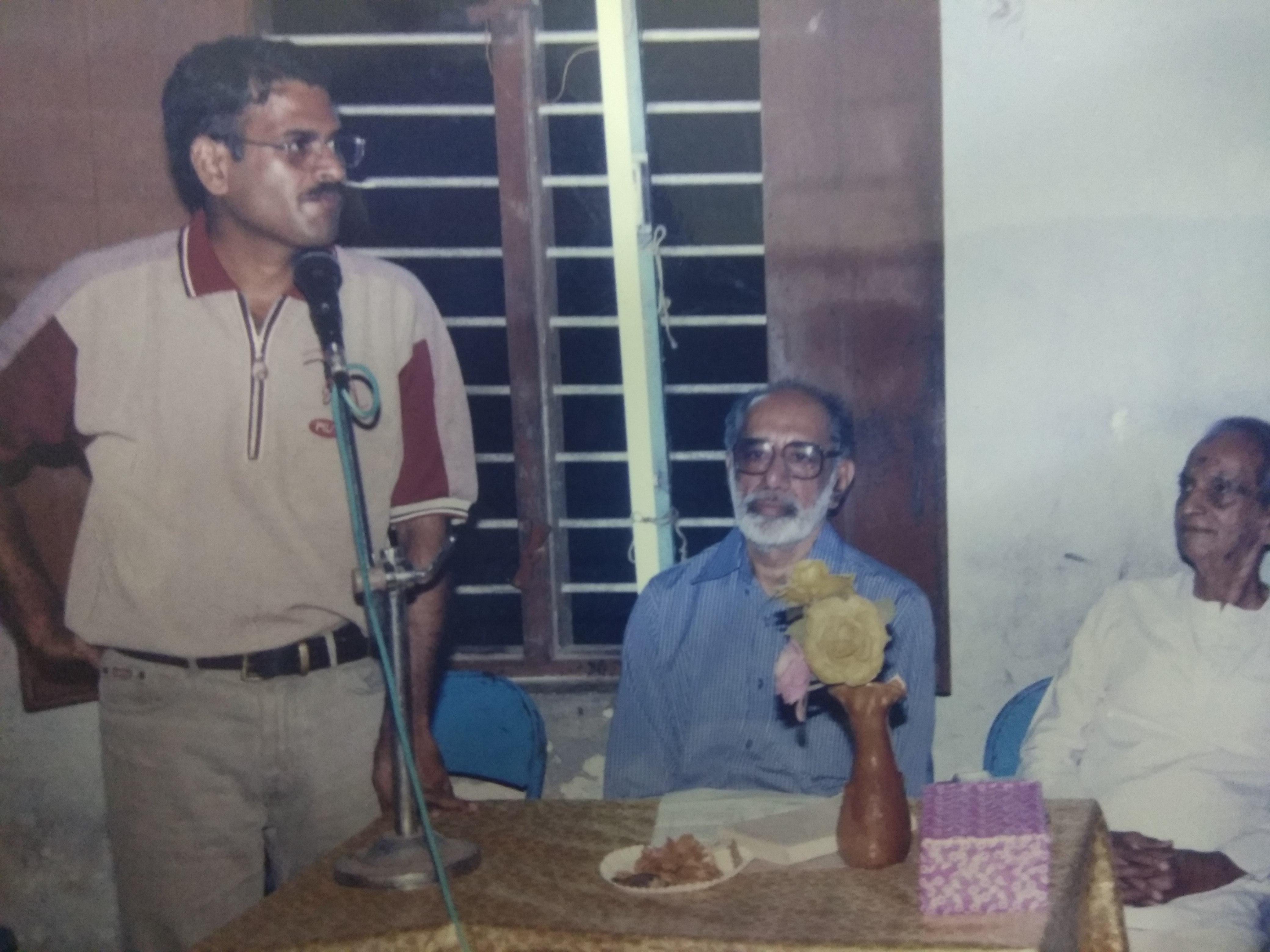 சுந்தர ராமசாமி, பேரா ஜேசுதாசன்