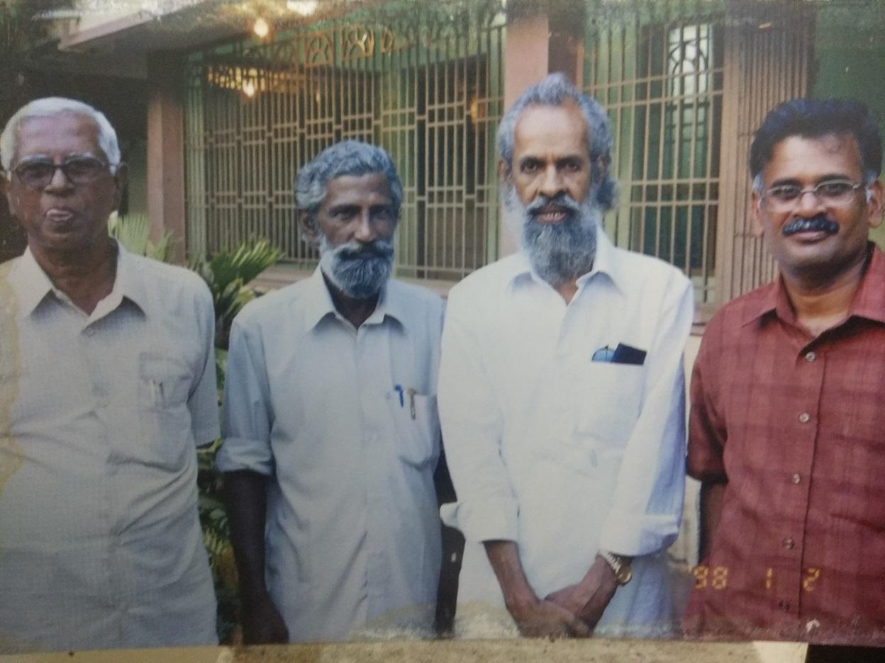 ஜேம்ஸ் ஆர் டேனியல், ராஜமார்த்தாண்டன், நீலபத்மநாபன்