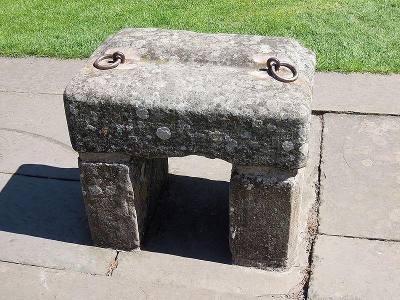 Replica_of_the_Stone_of_Scone,_Scone_Palace,_Scotland_(8924541883)